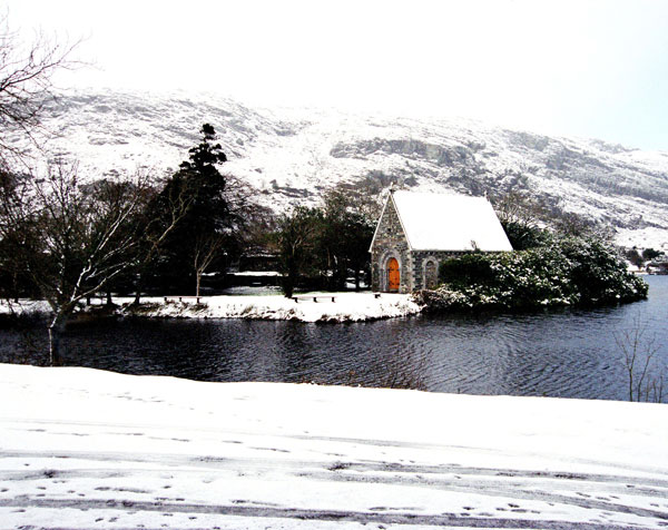 Winter at Gougane Barra, Co. Cork